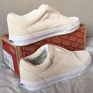 Shoes - Vans Old Skool Laceless HG Suede Fleece lady7.5